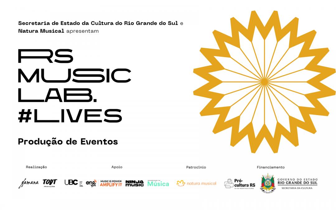 RS Music LAB #Lives | Produção de Eventos